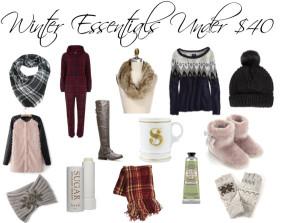 Winter Essentials Under $40
