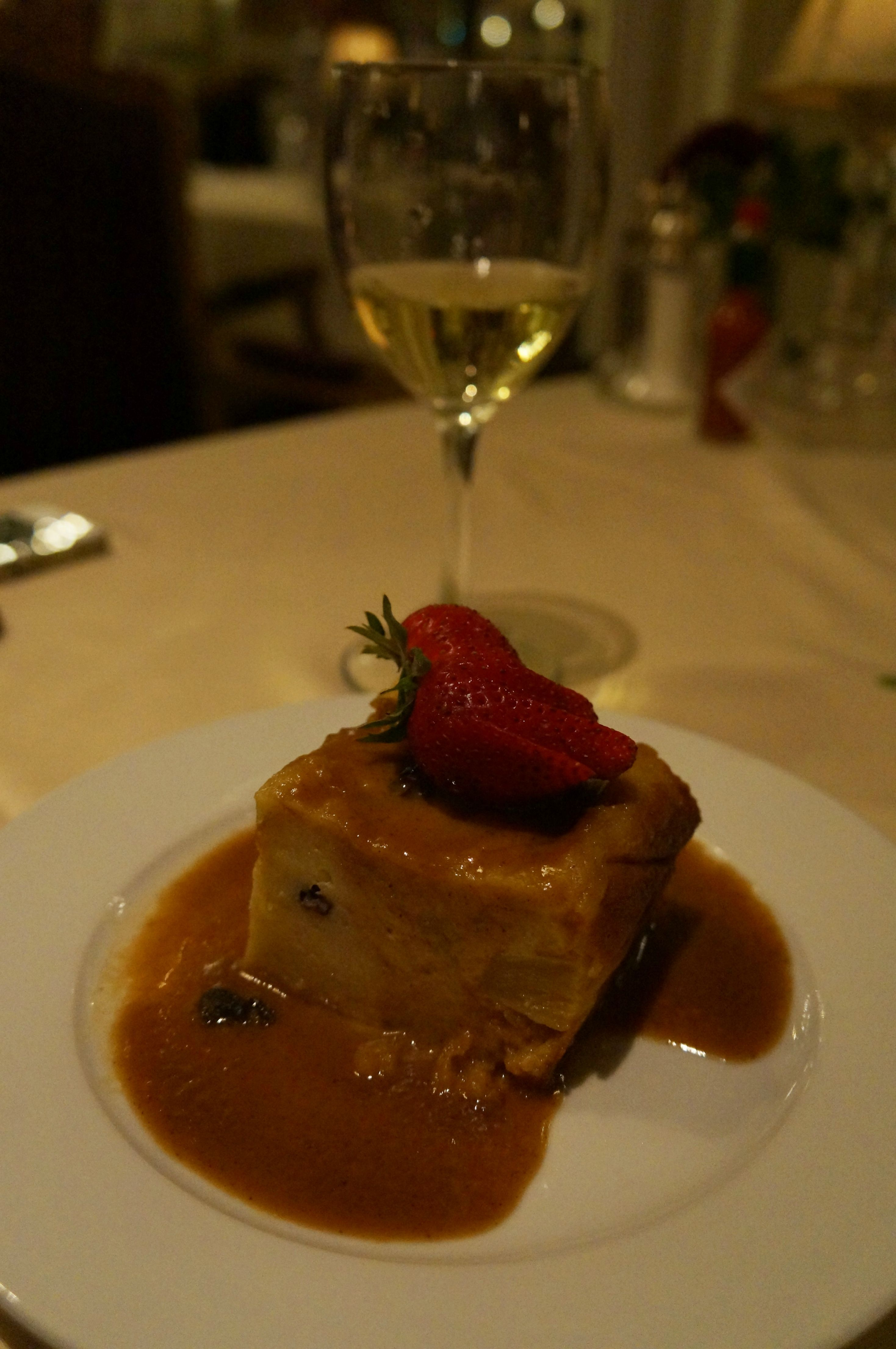 crystal room, new orleans, bread pudding
