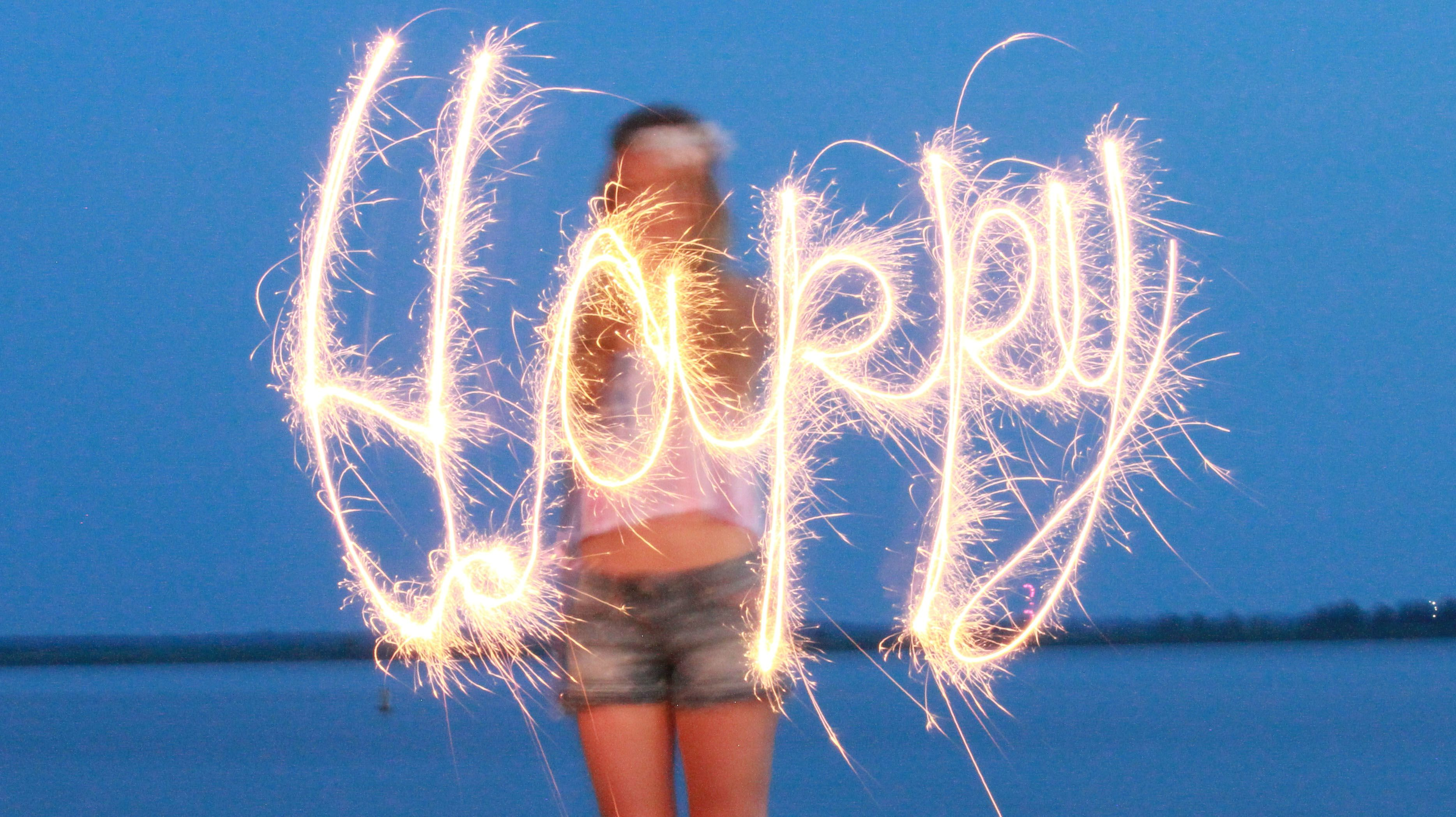sparkler photography, 4th of july photo
