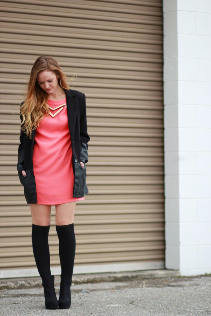 Black Amp Coral Upbeat Soles Orlando Florida Fashion Blog