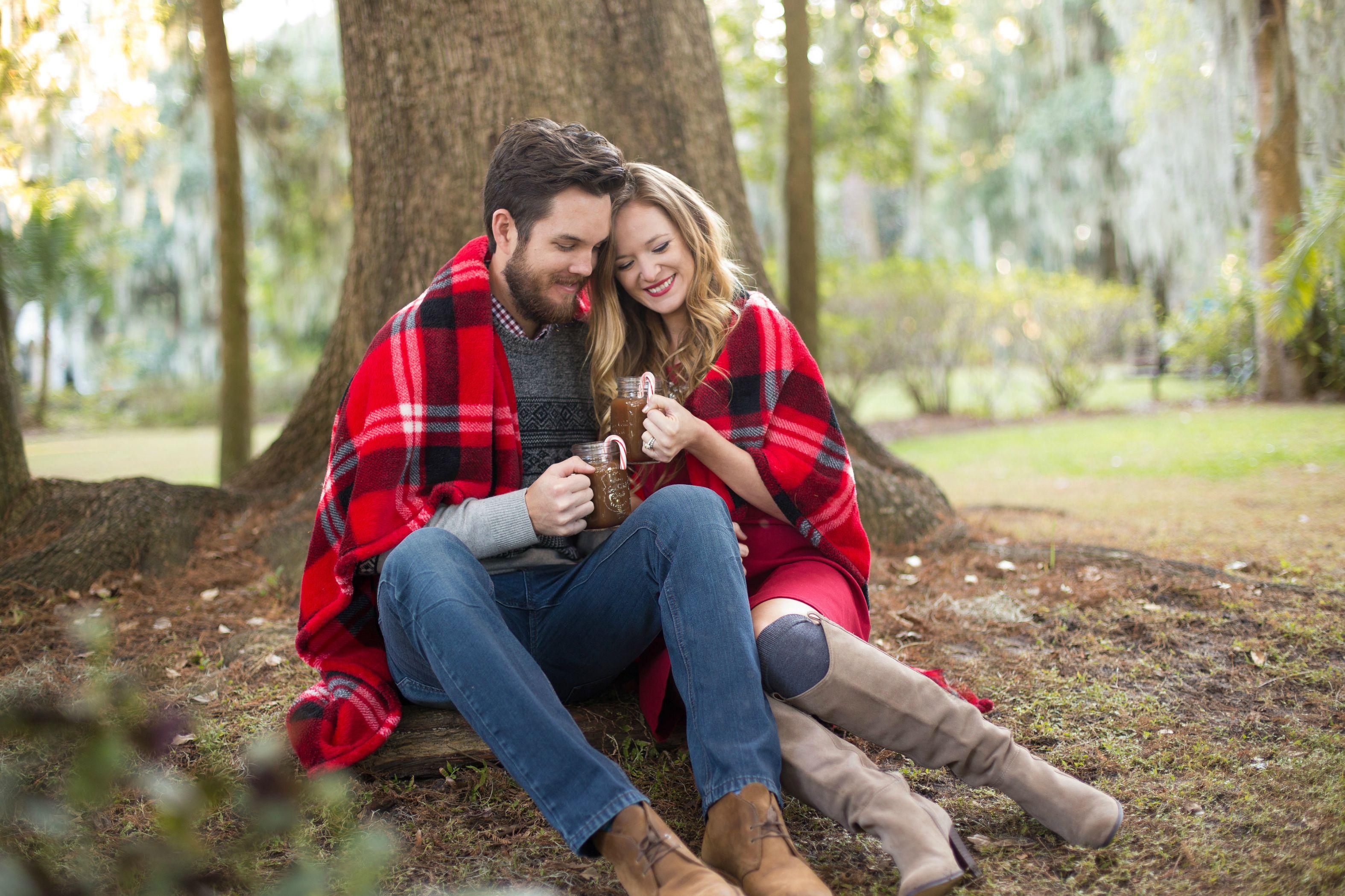 orlando, florida fashion blogger holiday, Christmas couple photos