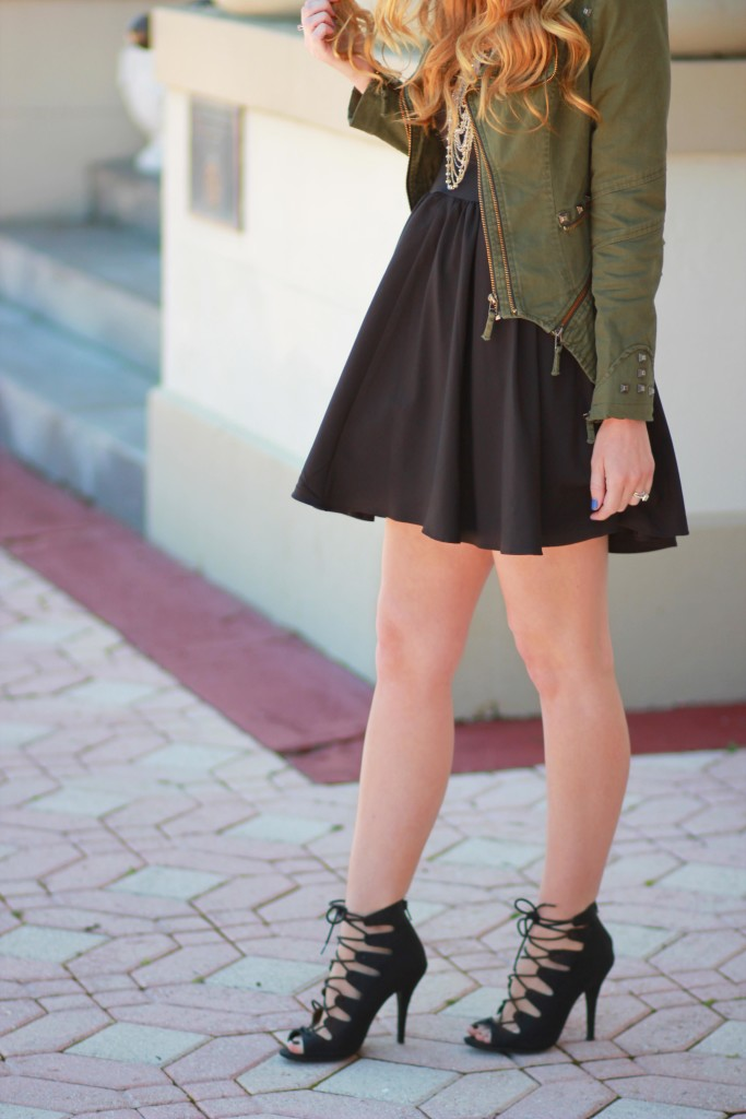 Lookbook store jacket and party dress