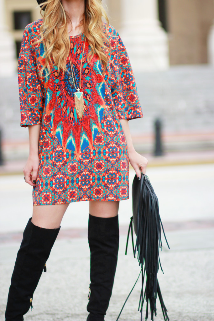 Casual spring dress