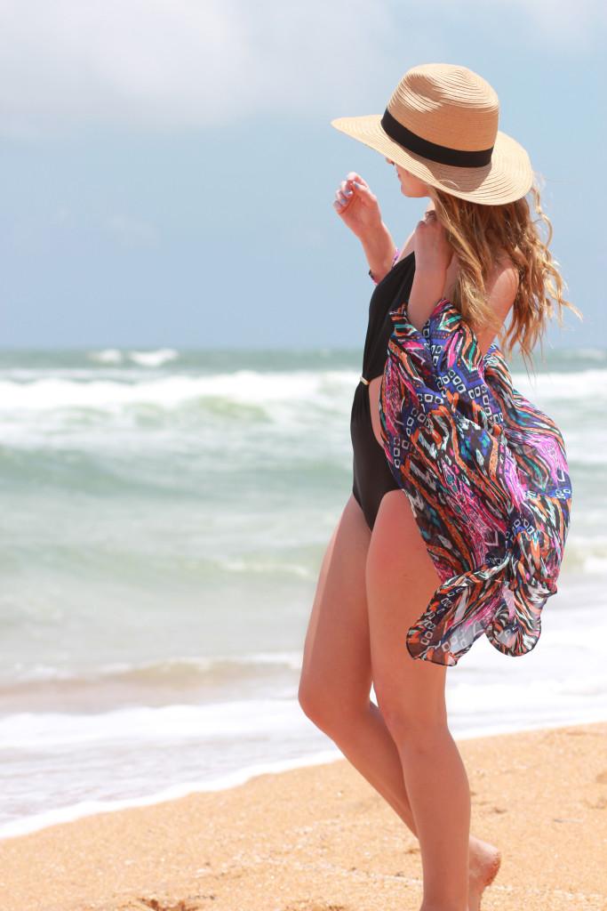 Black Monokini
