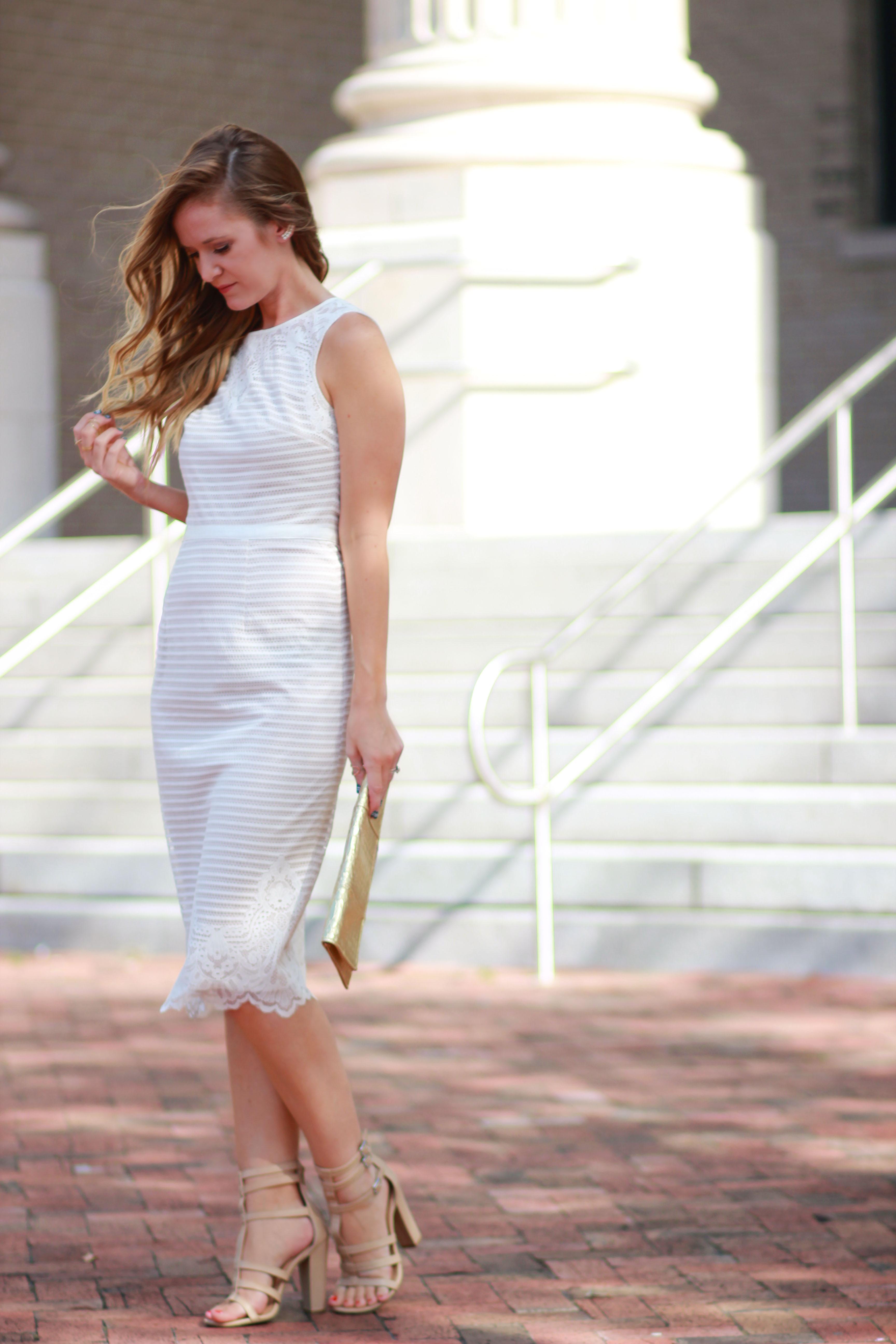 Maggy London Lace Dress | Upbeat Soles | Florida Fashion Blog