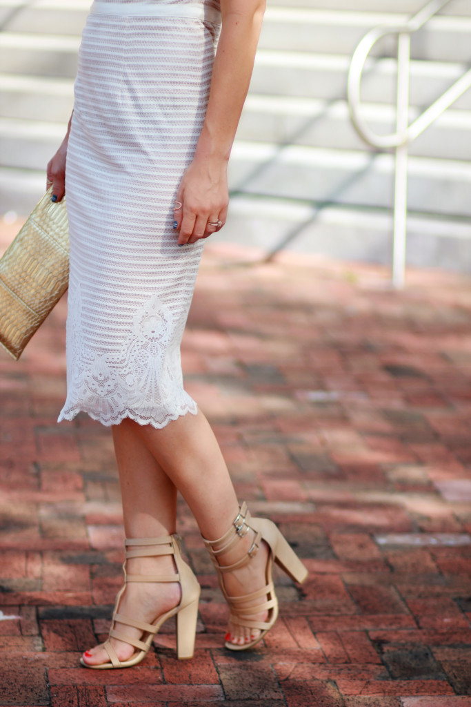 maggie london lace dress
