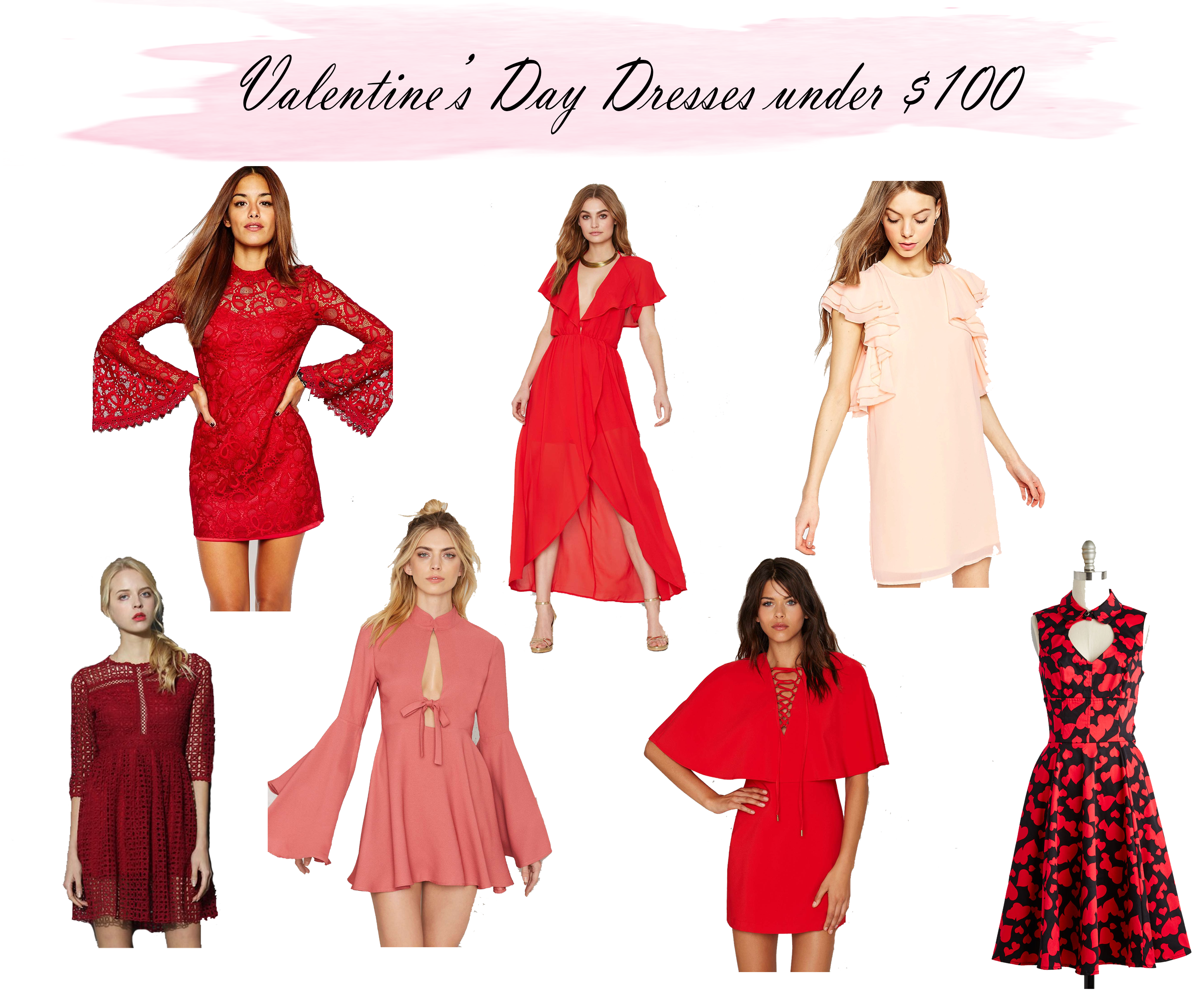 Valentine's Day Dresses under $100 | Upbeat Soles | Florida ...