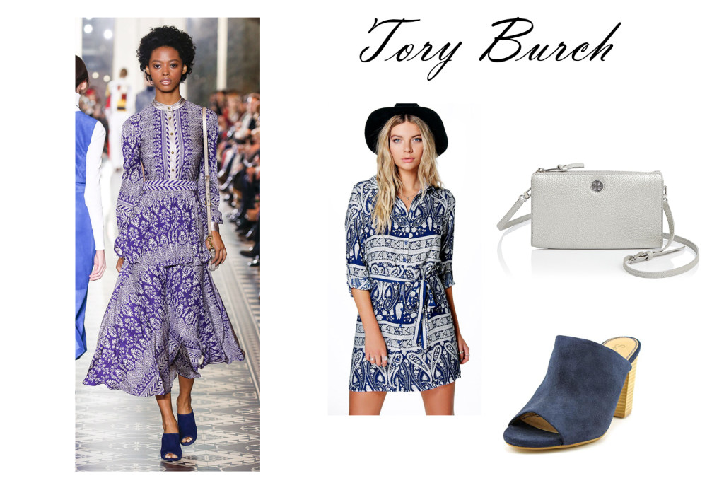 Tory Burch look for less
