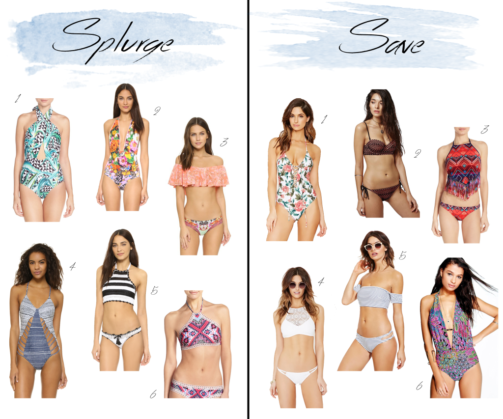 Must have Spring 2016 swimsuits