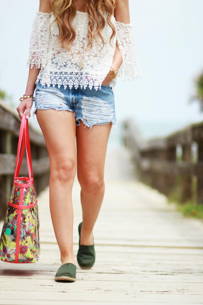 Beach Outfit | Upbeat Soles | Orlando Florida Fashion Blog