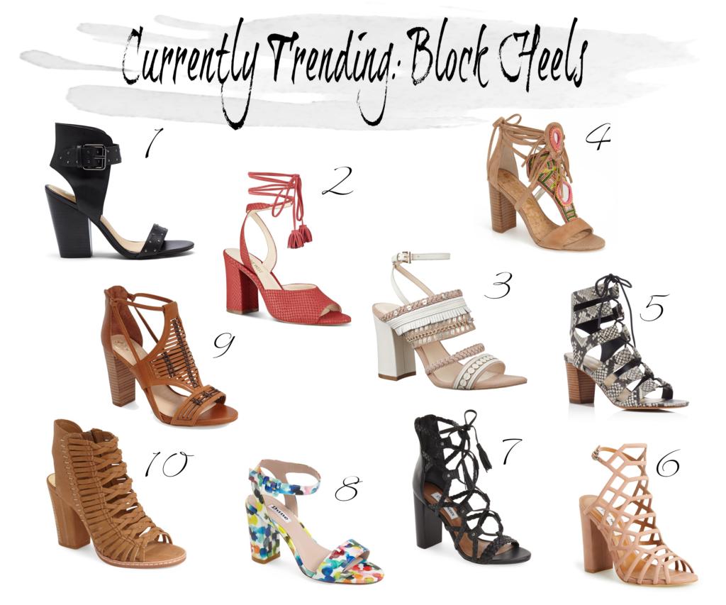 best block heel sandals