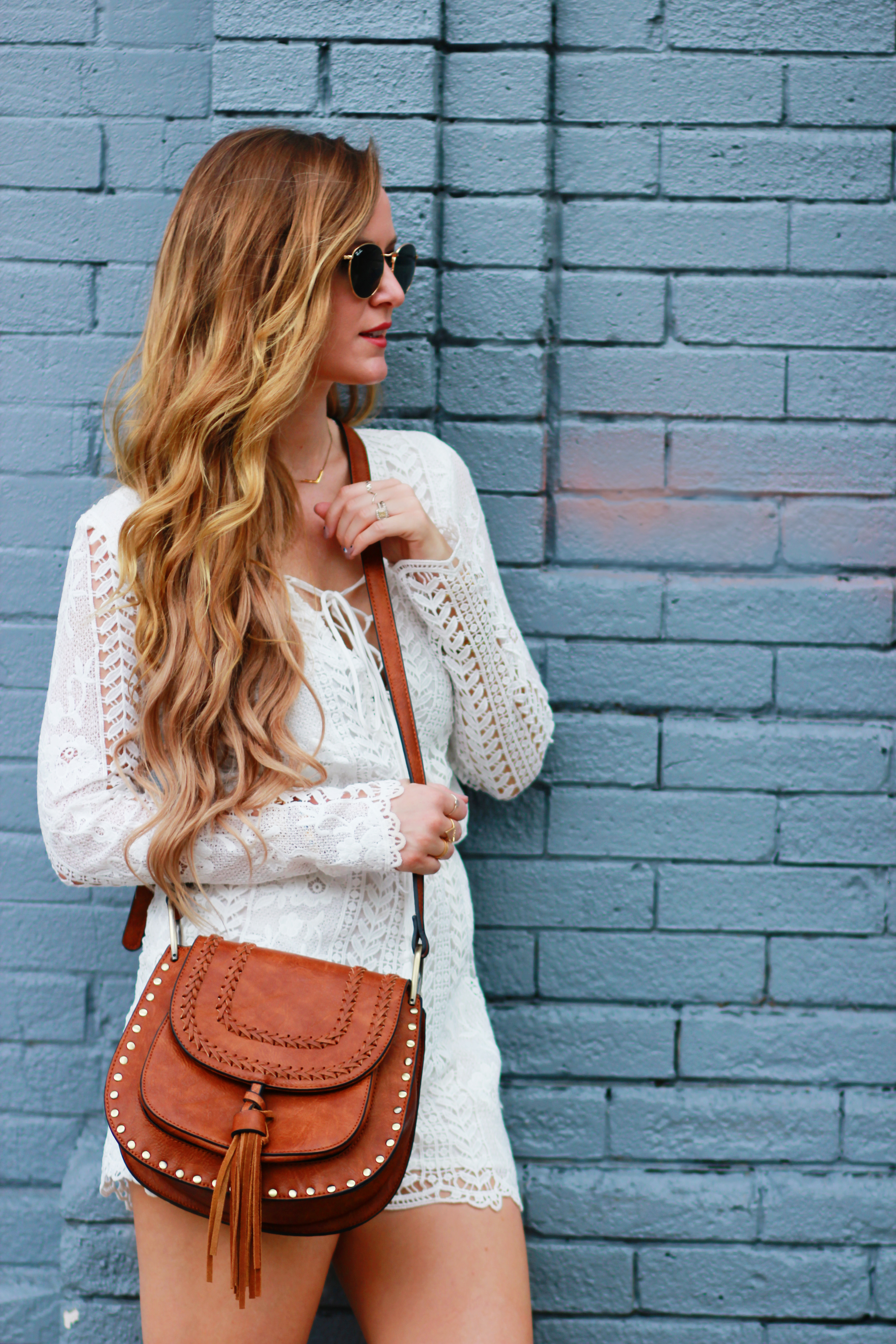Lace Romper Upbeat Soles Orlando Florida Fashion Blog