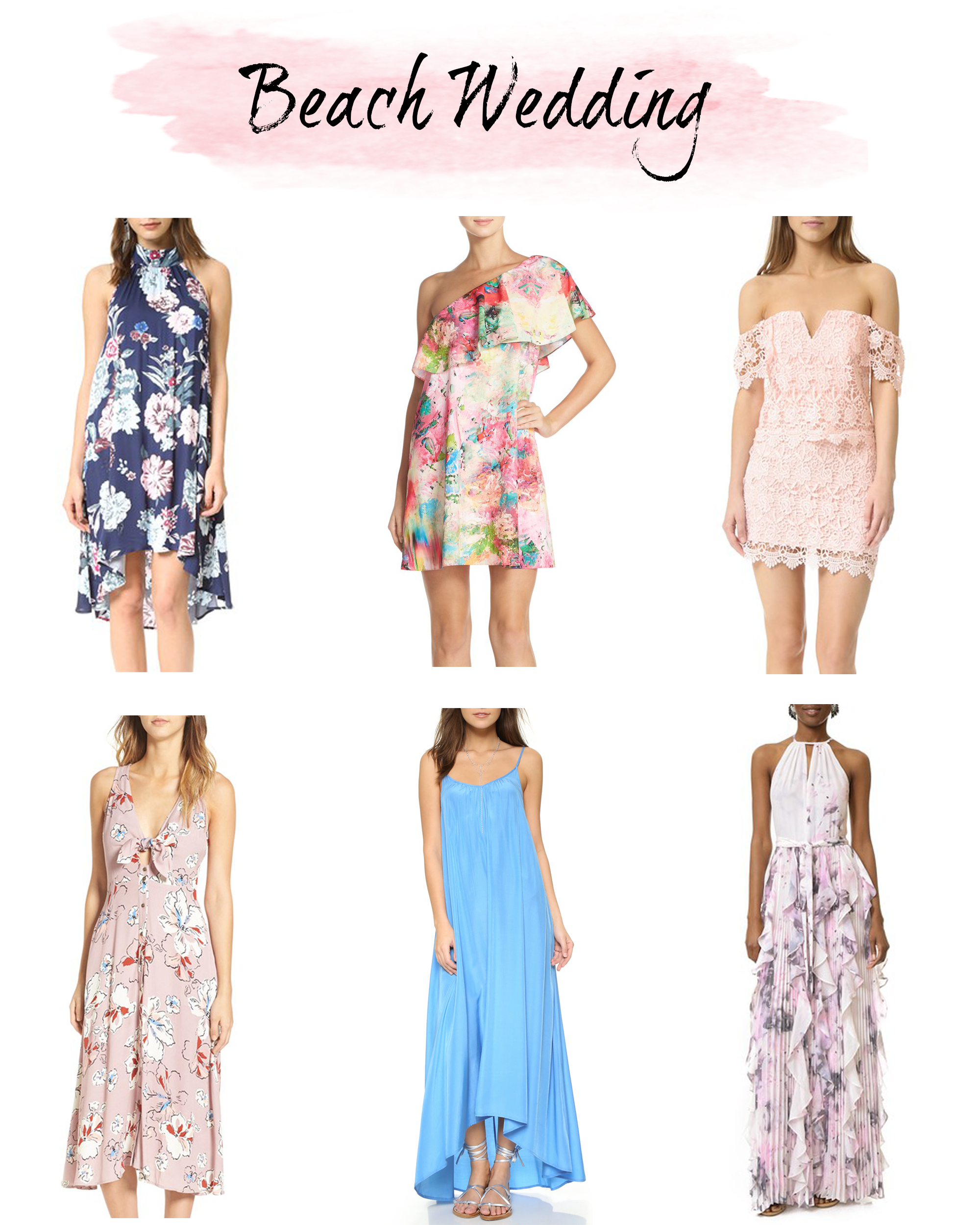 What To Wear A Beach Wedding