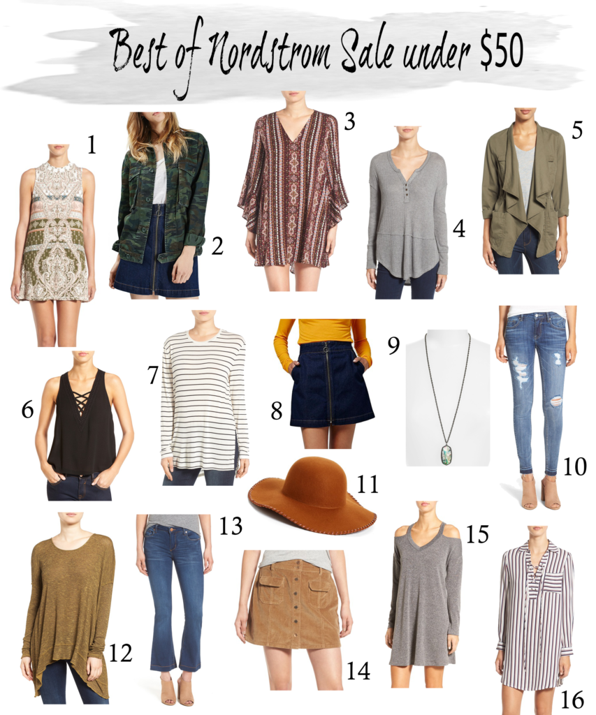 Nordstrom anniversary sale under $50 items