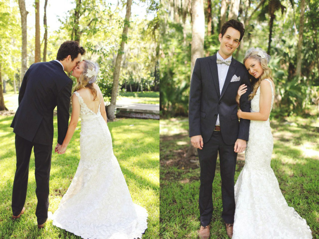 Florida vintage wedding