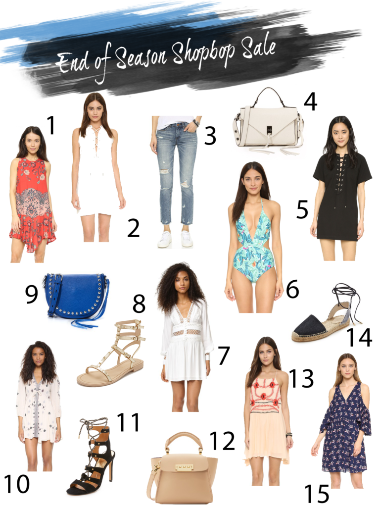Orlando Florida fashion blog finds the must haves for the Shopbop End of season summer sale
