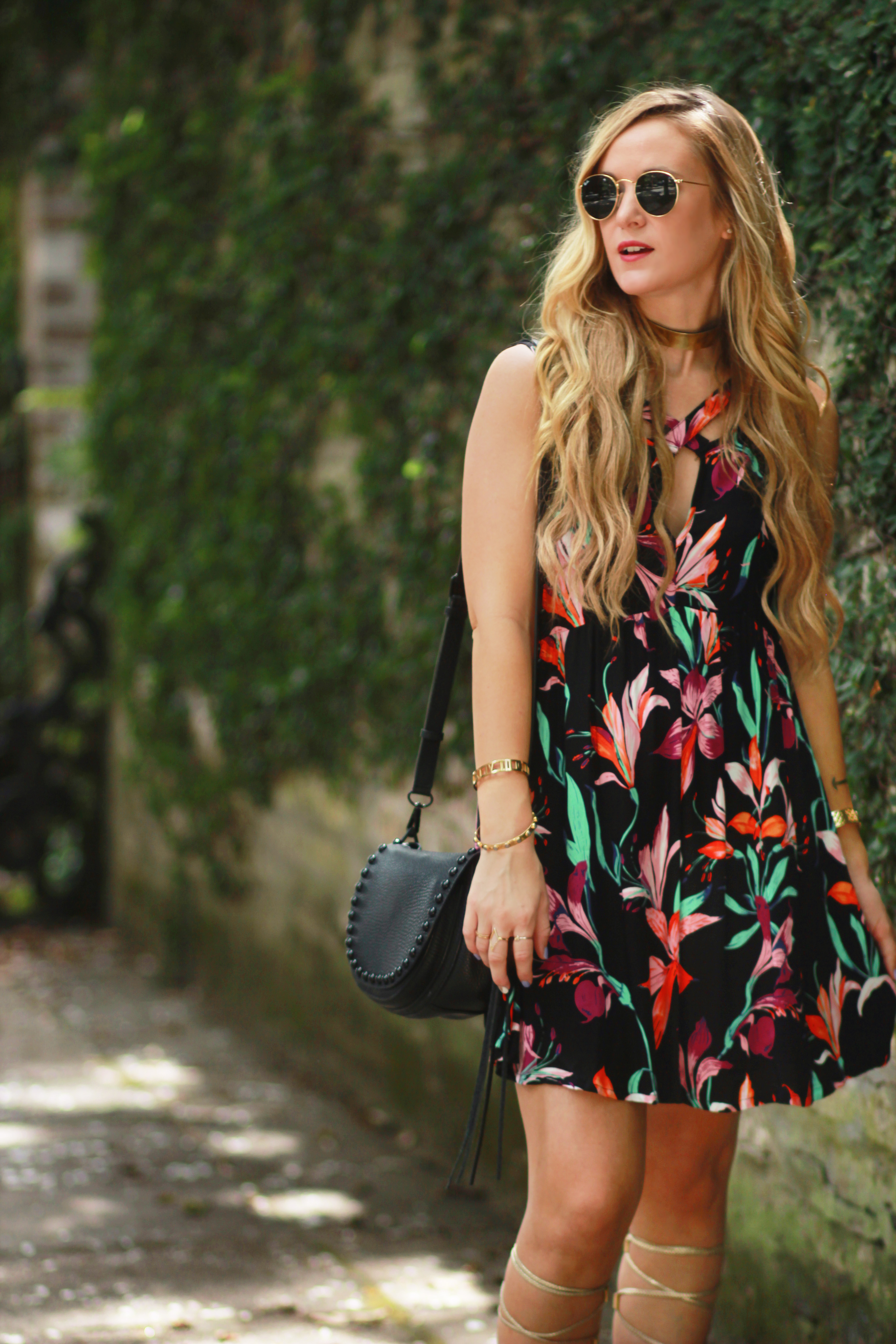 Boho Floral Dress | Upbeat Soles | Orlando Florida Fashion Blog