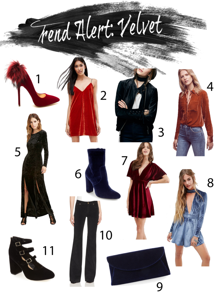 Shannon Jenkins of Upbeat Soles talks about top fall trends for 2016 and must have velvet items for fall