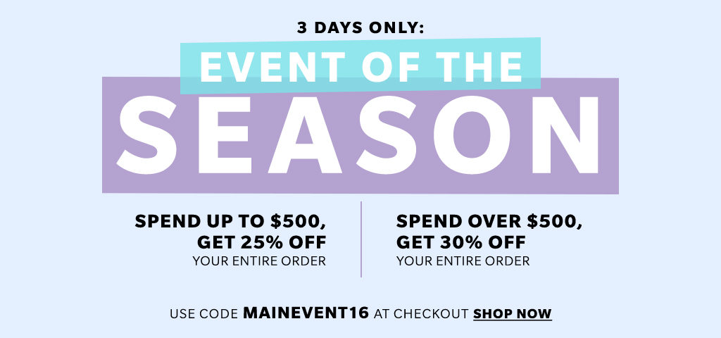 shopbop sale main event 2016 must haves