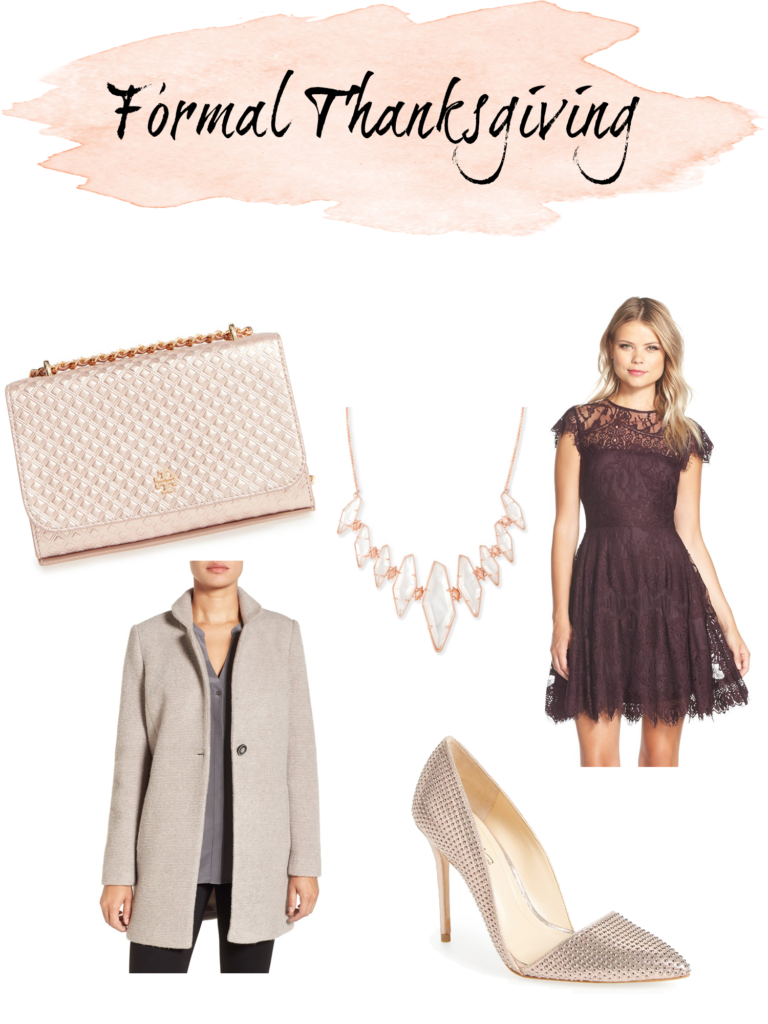 Shannon Jenkins of Upbeat Soles gives Holiday and Thanksgiving outfit inspiration with suede Blank NYC jacket, and burgundy lace dress
