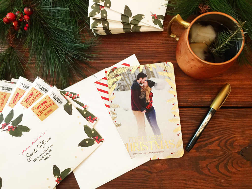 Shannon Jenkins of Upbeat Soles does a Tiny Print Christmas cards review and $100 credit giveaway