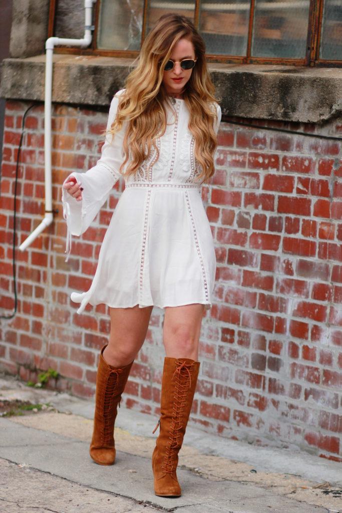 Bohemian Fall Outfit | Upbeat Soles | Orlando Florida Fashion Blog