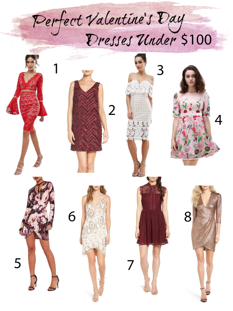 Shannon Jenkins of Upbeat Soles finds the perfect budget friendly Valentine's Day dresses for under $100