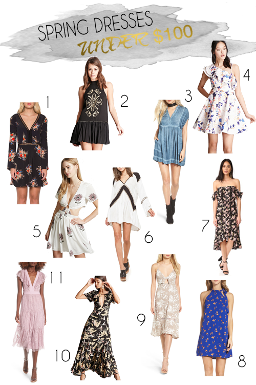Shannon Jenkins of Upbeat Soles talks about all the must have spring dresses for under $100
