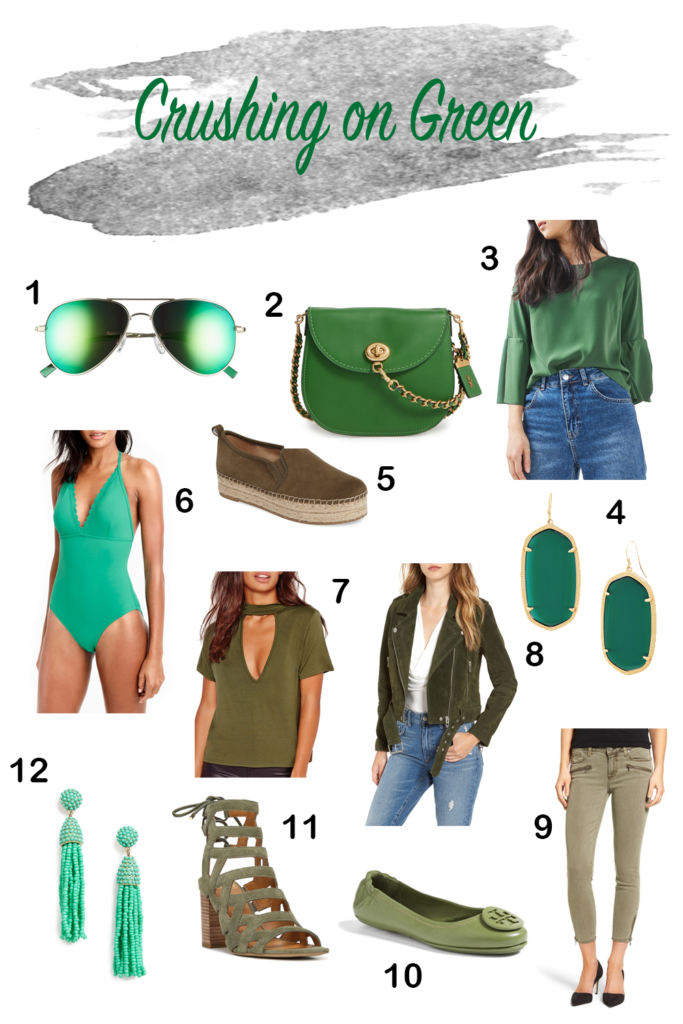 Shannon Jenkins of Upbeat Soles talks St Patrick's Day style inspiration with olive Blank NYC suede jacket, Sam Edelman espadrilles and more