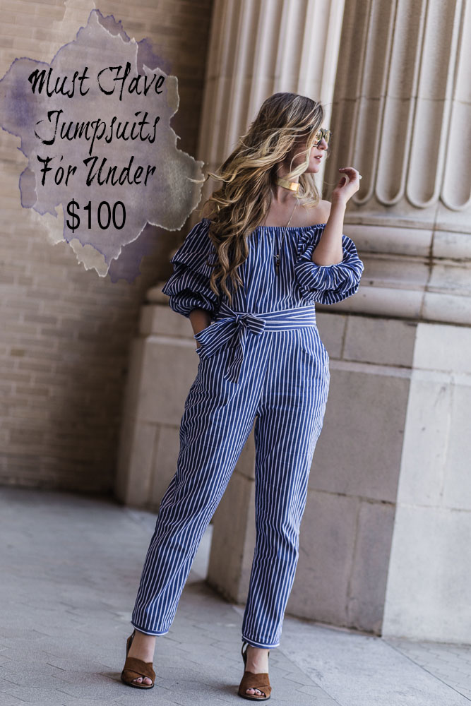 Shannon Jenkins of Upbeat Soles talks about cute must have jumpsuits for summer that are all under $100 and affordable