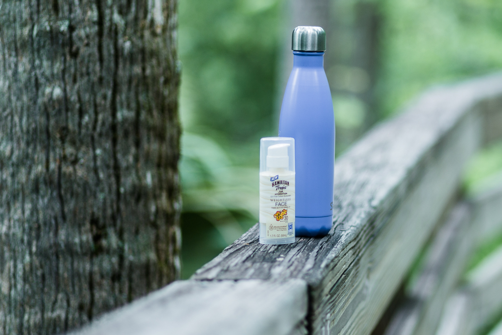 Shannon Jenkins of Upbeat Soles reviews Hawaiian Tropic face lotion and talks about how to relax during the summer