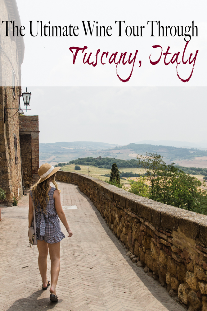 Shannon Jenkins of Upbeat Soles talks about the how to do a wine tour around Tuscany, Italy in 3 days and see all the wineries in Montalcuno & Montepulciano