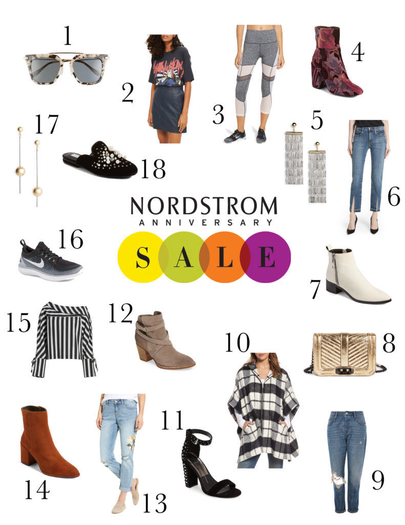 Shannon Jenkins of Upbeat Soles gives the best of Nordstrom Anniversary sale 2017