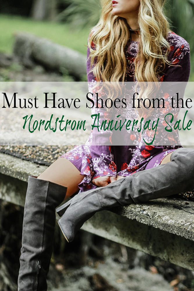 Shannon Jenkins of Upbeat Soles talks about the must have shoes, boots, and booties of the Nordstrom Anniversary Sale 2017
