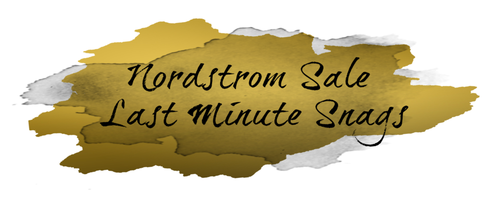 Shannon Jenkins of Upbeat Soles talks about the Nordstrom Anniversary Sale last minute must haves