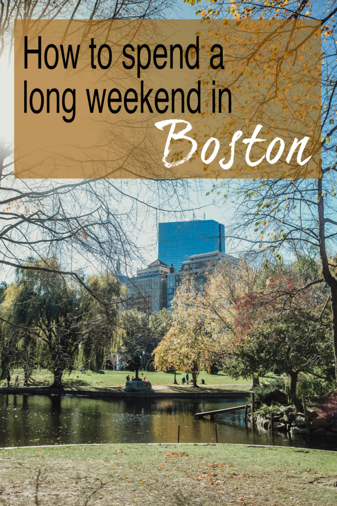 Shannon Jenkins of Upbeat Soles talks about what you must do and eat while in Boston and Salem for a long weekend like the freedom trail and shopping