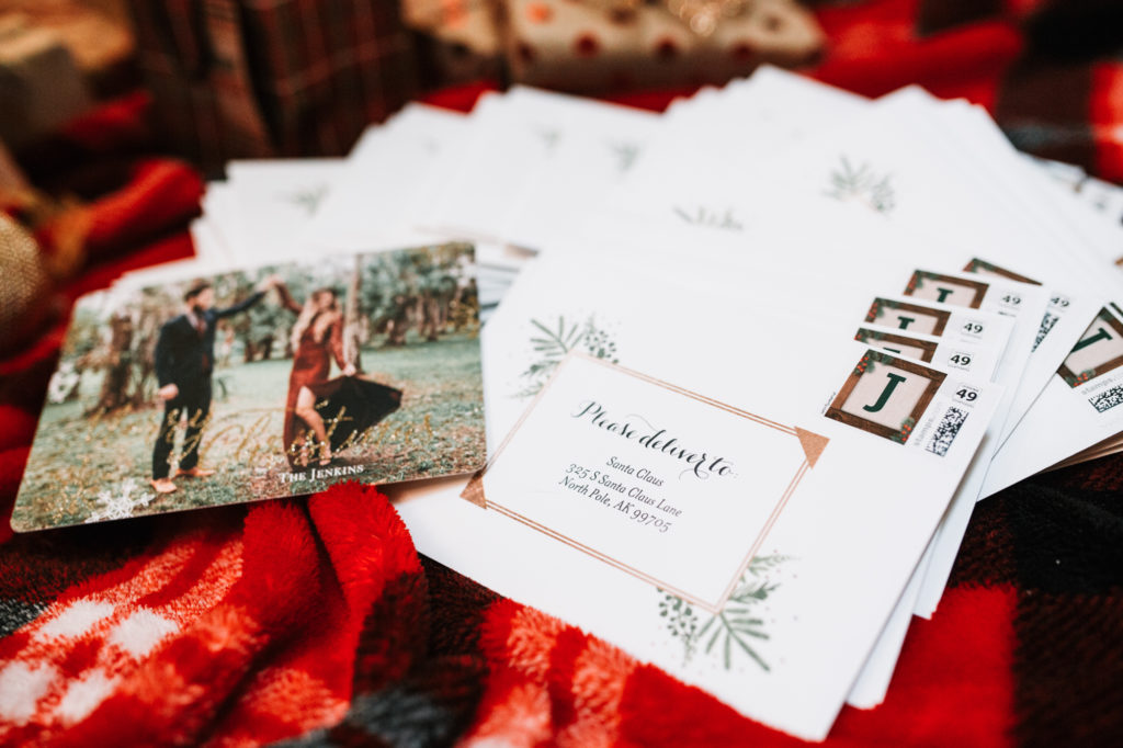 Shannon Jenkins of Upbeat Soles shows her Christmas Card Ideas and how to use Shutterfly to make Christmas cards and gifts