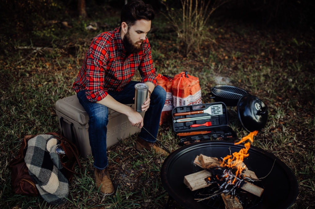 Fashion Blog Upbeat Soles shares a holiday mens gift guide for him featuring gifts from Academy Sports + Outdoors