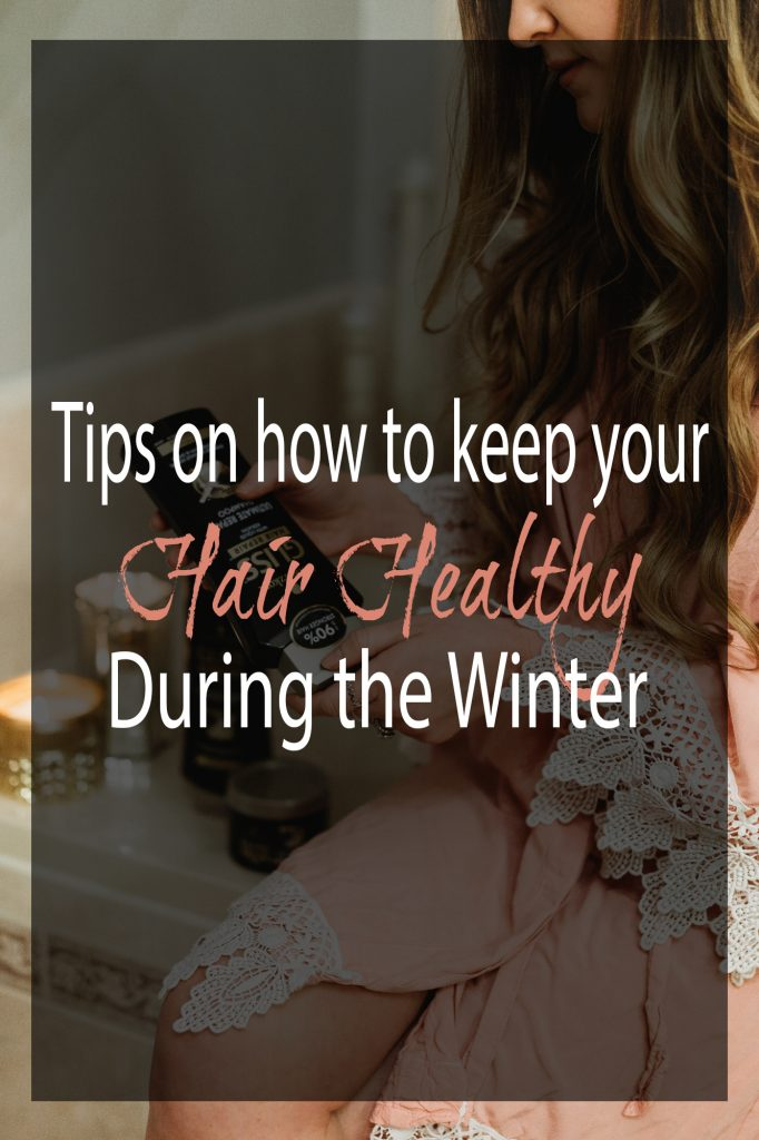 Shannon Jenkins of Upbeat Soles talks about how to keep your hair healthy during the winter and does a Gliss Hair Repair review