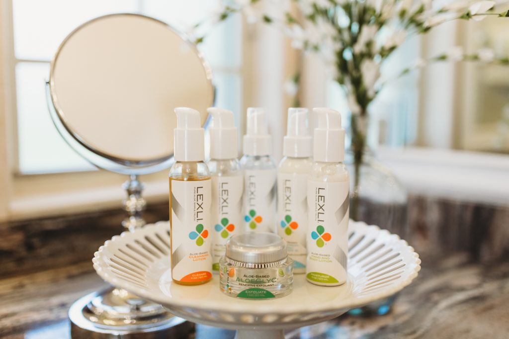 Shannon Jenkins of Upbeat Soles does a Lexli skincare review and talks about how the skincare is made with Organic, Pharmaceutical-Grade Aloe Vera