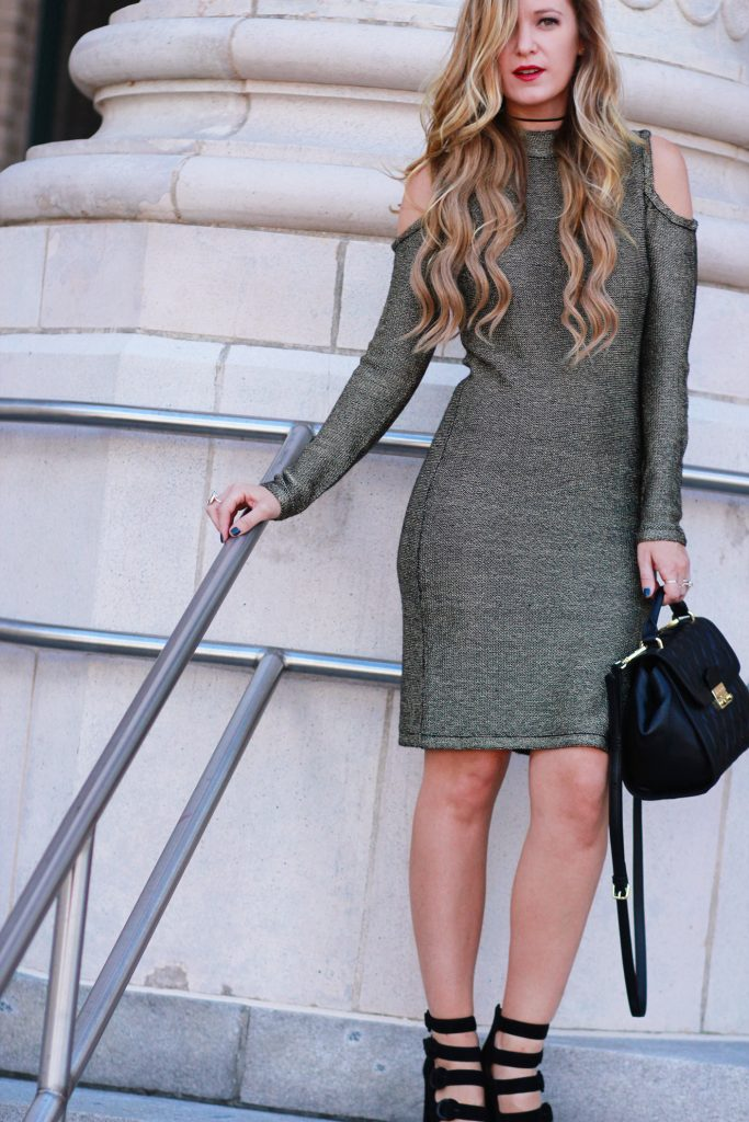 Shannon Jenkins of Upbeat Soles blogs New Year's Eve outfit inspiration with the best NYE outfits and dresses