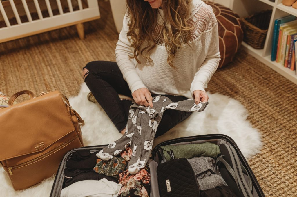 Shannon Jenkins of Upbeat Soles talks about what to pack in your hopital bag when having a baby like delivery gown, chapstick, nursing bras, etc