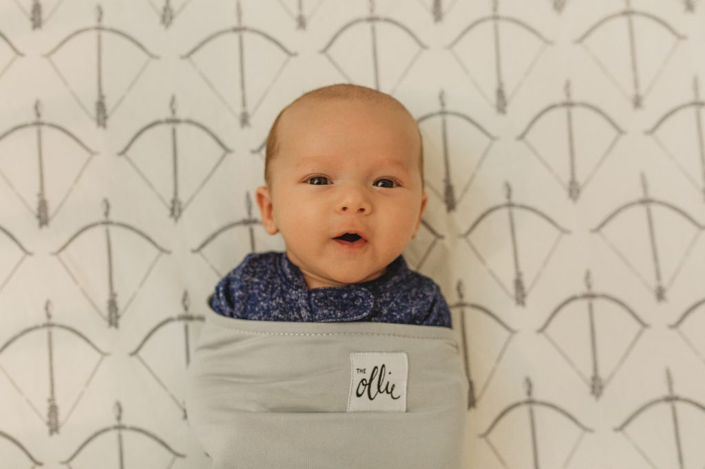 Shannon Jenkins of Upbeat Soles does a review on the Ollie swaddle and says how it is a must have baby item for 2019 and the best swaddle