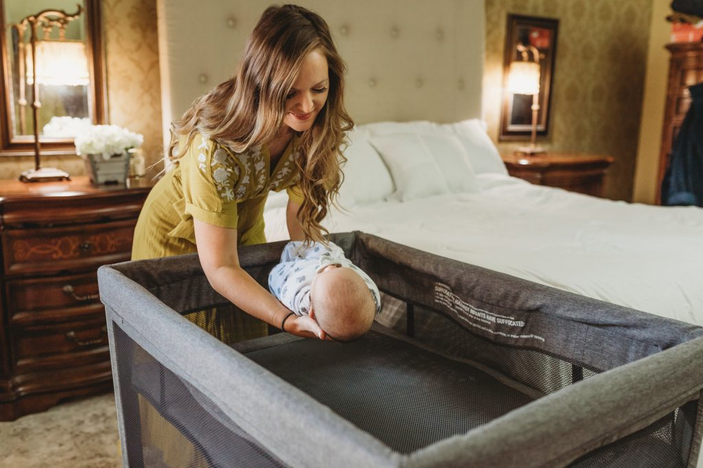 Shannon Jenkins of Upbeat Soles does a Halo DreamNest review and talks about the AAP safe sleep guidelines and how the Halo is a must have baby item
