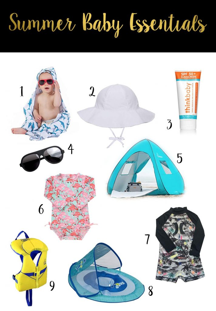 Shannon Jenkins of Upbeat Soles talks about the must have summer baby essentials like a good infant life jacket, baby SPF swimsuit, and baby beach tent