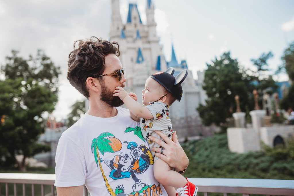 Shannon Jenkins of Upbeat Soles talks about her baby's first Disney trip and how he met Mickey and Minnie and went on the carousel and Small World