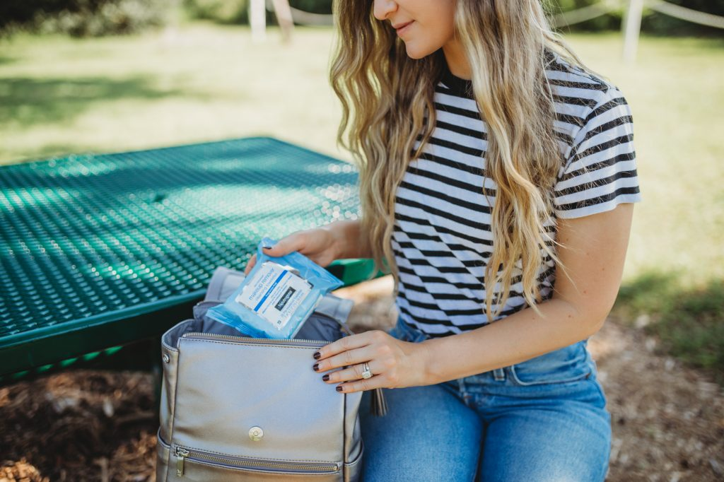 Shannon Jenkins of Upbeat Soles does a Neutrogena Make up remover wipes review and talks about how it removes dirt and oil and cleans